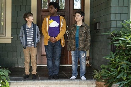 Jacob Tremblay as Max, Keith L. Williams as Lucas and Brady Noon as Thor in